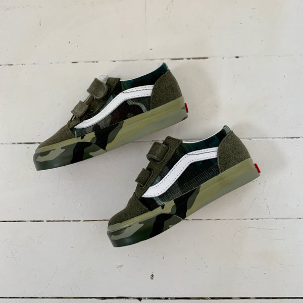 Old Skool V Plaid Camo