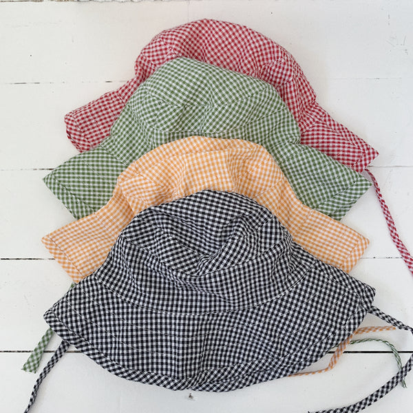 Baby Gingham Bucket Hat