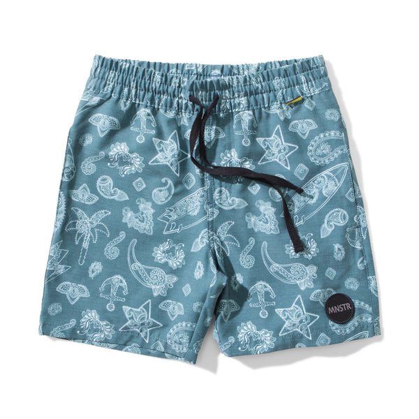 Surfaisley Boardshorts | Teal