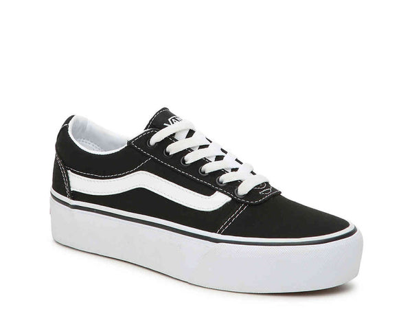Platform Old Skool's Black- True white| Adult