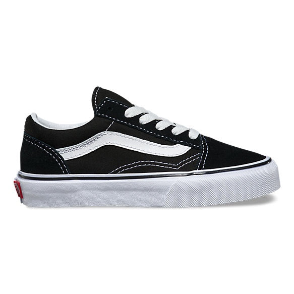 Old Skool- Black- True white| Kids