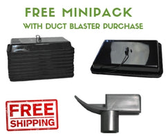 Free MiniPack with Duct Blaster Purchase