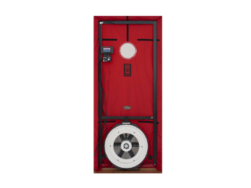 Minneapolis Blower Door™ System (with DG-1000) - Vent Cap Systems - Home Performance - Duct Leakage Testing Products