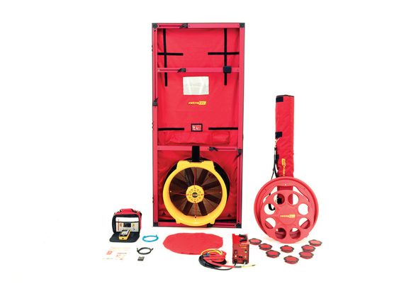 Retrotec Blower Door | 6100 Series | Hi-Power - Vent Cap Systems - Home Performance - Duct Leakage Testing Products
