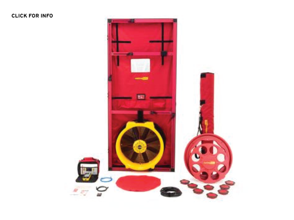 Blower Door | 5100 Series - Vent Cap Systems - Home Performance - Duct Leakage Testiing Products