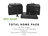 "The ""TOTAL HOME PACK"" - Vent Covers For Duct Testing Kit - Vent Cap Systems - Home Performance - Duct Leakage Testing Products"