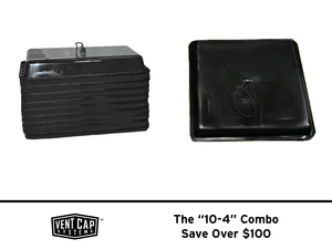"The ""10-4"" Combo - Vent Covers For Duct Testing - Vent Cap Systems - Home Performance - Duct Leakage Testiing Products"