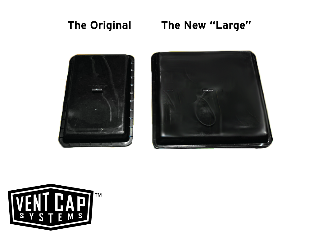 "The New ""Large"" - Vent Cap Systems - Home Performance - Duct Leakage Testiing Products"