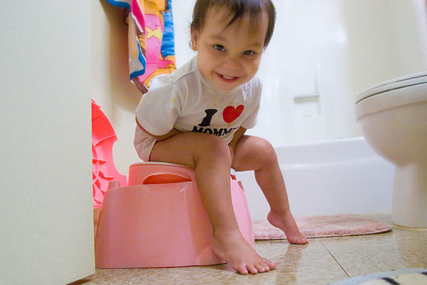 Personalize your child's potty with fun names like Poopy Place