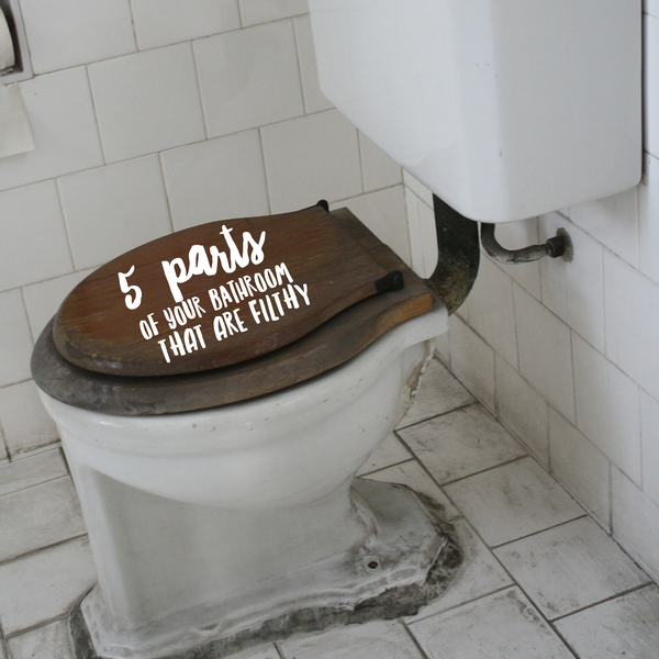 Five parts of your bathroom that are filthy