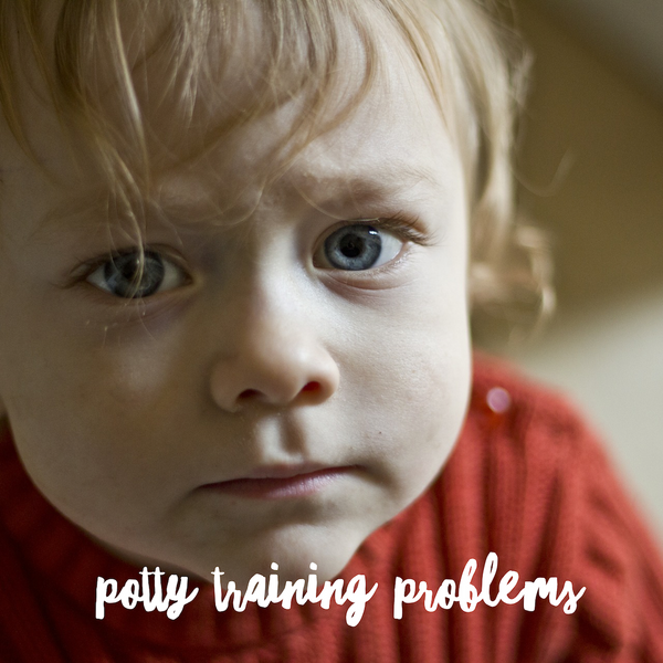 5 common potty training problems