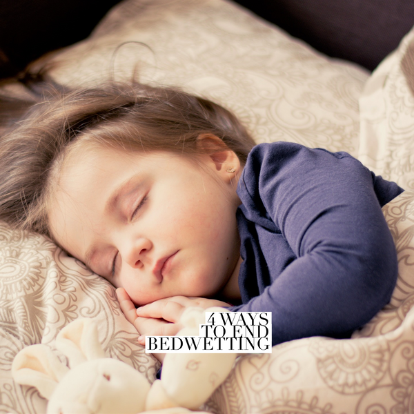 4 ways to end bedwetting