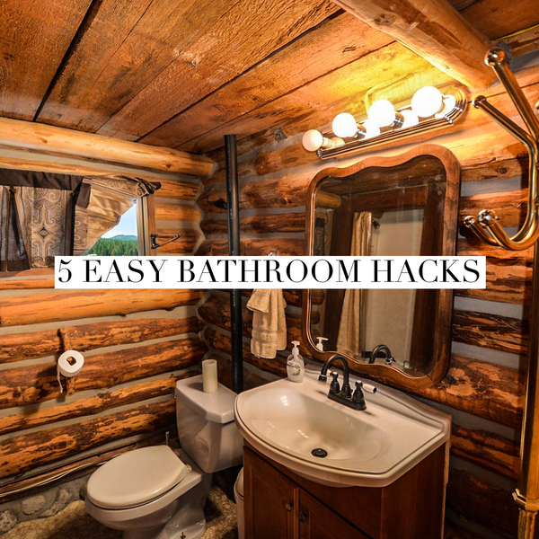 5 Easy bathroom hacks that you'll enjoy