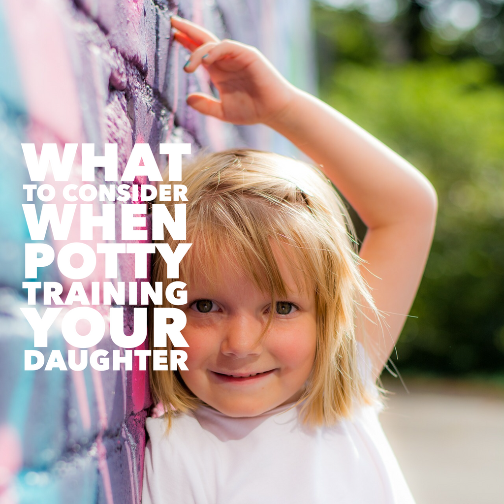 What to consider when potty training your daughter