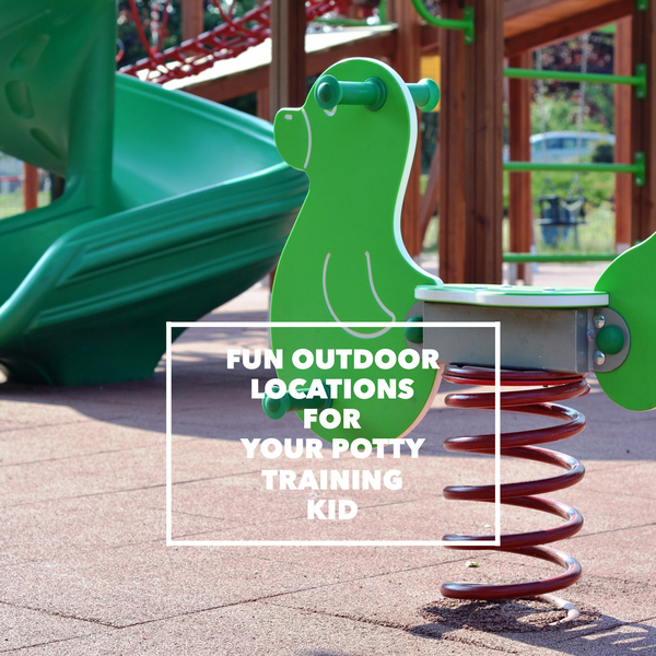 Four fun outdoor locations for your potty training child