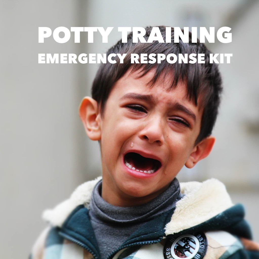 Potty training emergency response kit