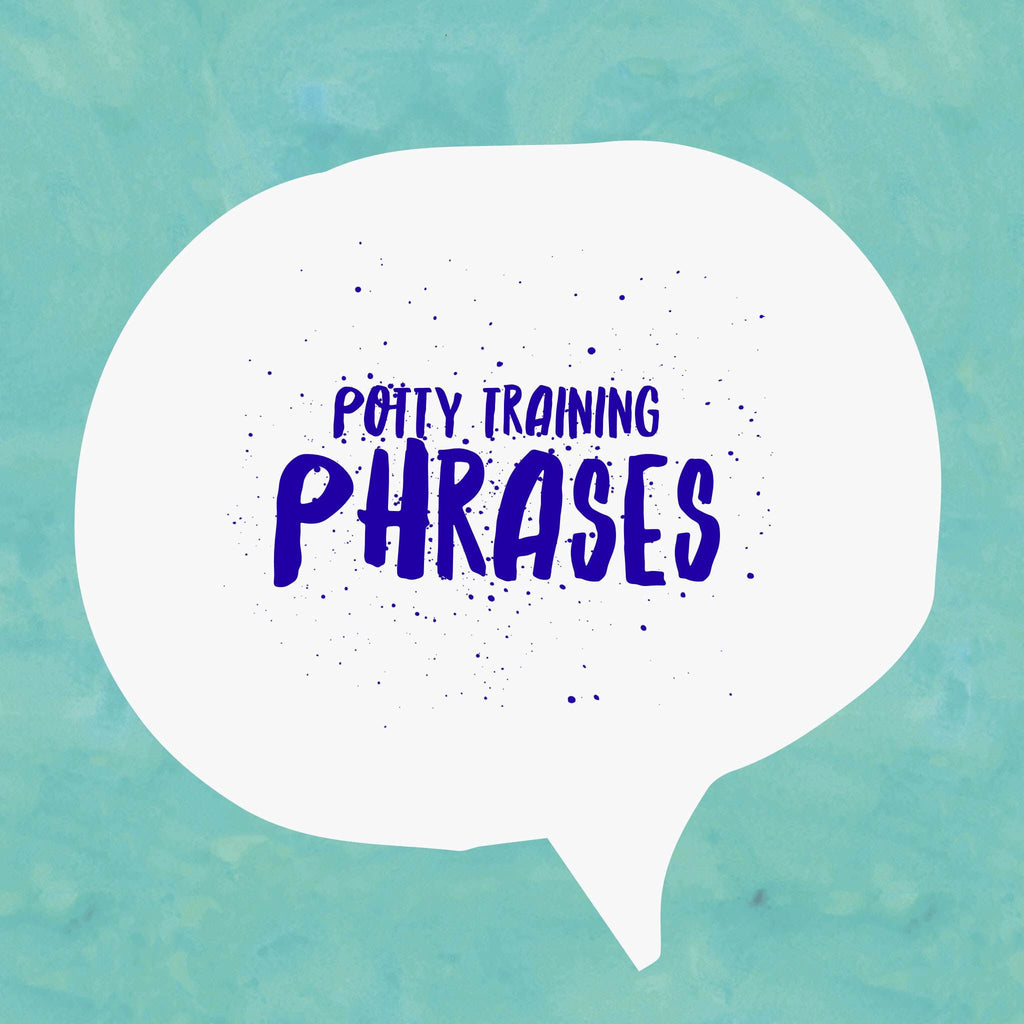 5 Phrases you can use to keep your child calm when potty training