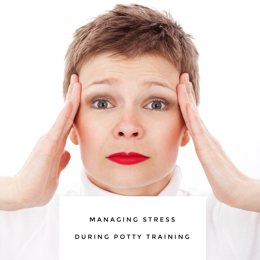How to manage the stress of potty training your child