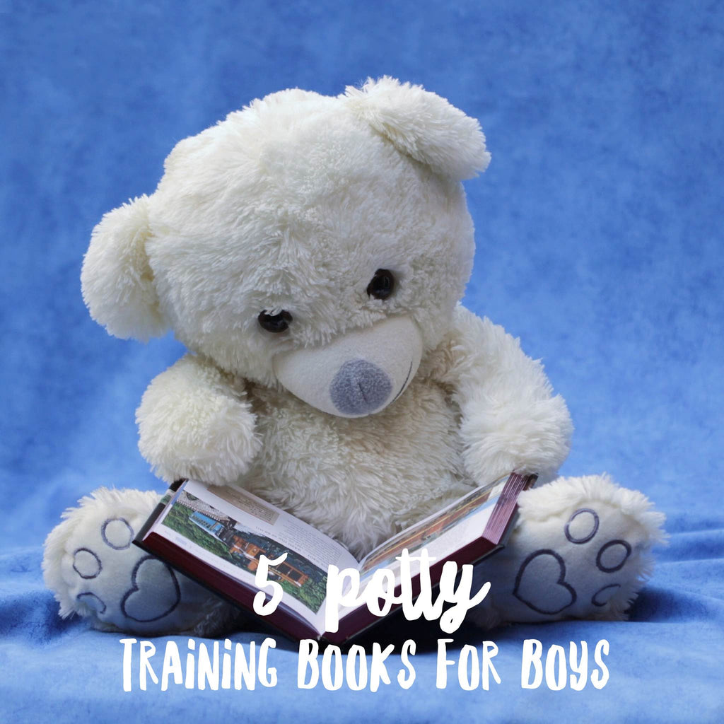 5 Potty training books for boys