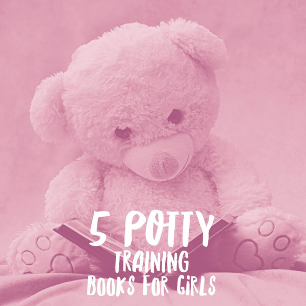 5 Potty training books for girls