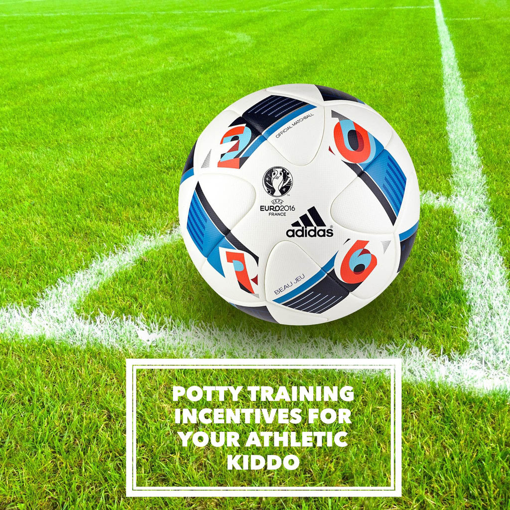 3 Potty training incentives for your sports loving kiddo