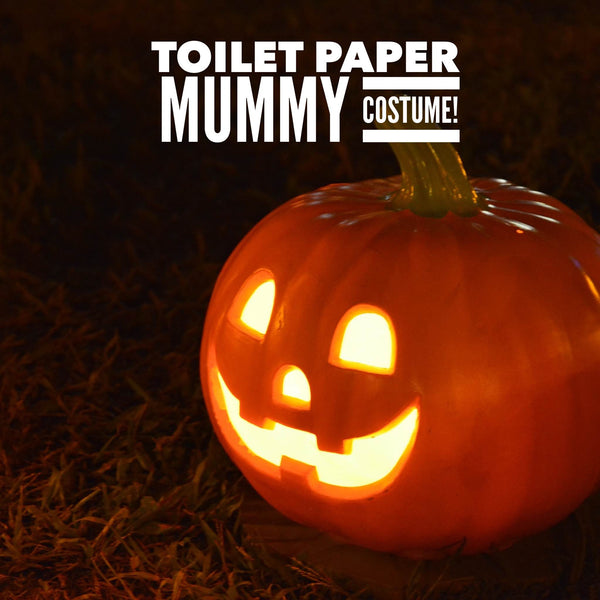 Easy potty training toilet paper mummy costume