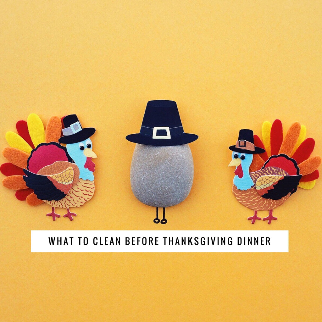 3 things to clean before Thanksgiving dinner