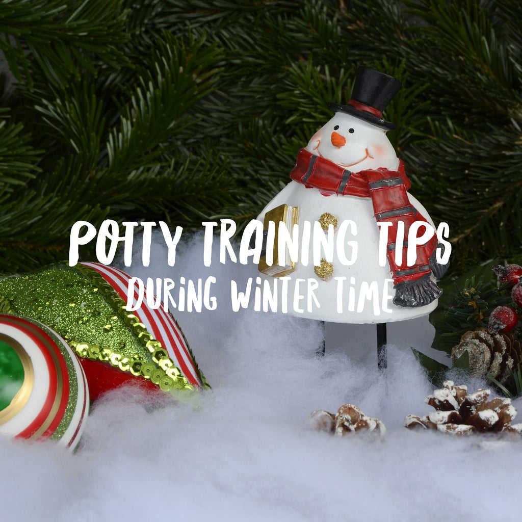 Potty training tips during winter time
