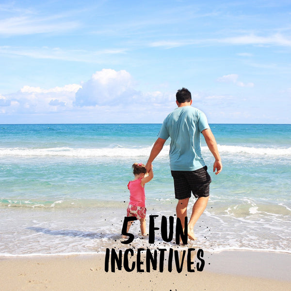 Five fun incentives for your potty training child