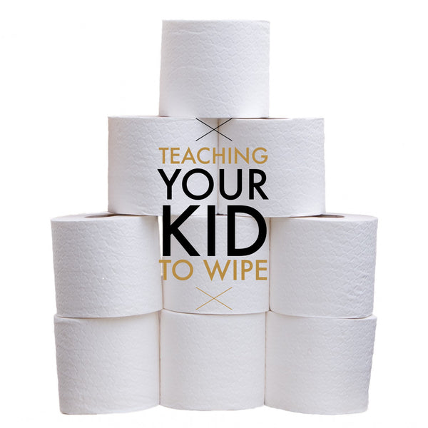 Get your potty training child in the habit of wiping