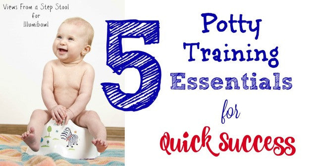 5 Potty training essential for quick success (guest blog post)*