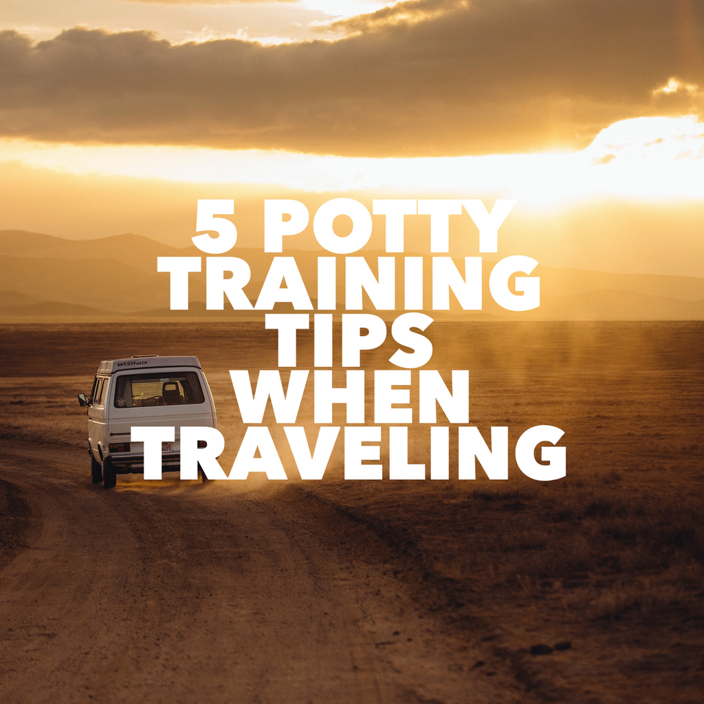 5 Potty training tips when traveling