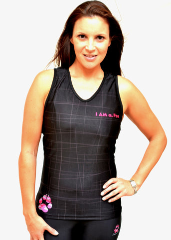 SUMMER SALE - Black Compression Top
