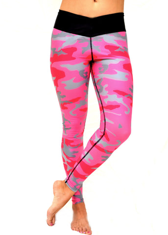 SUMMER SALE - Pink Camo Pants
