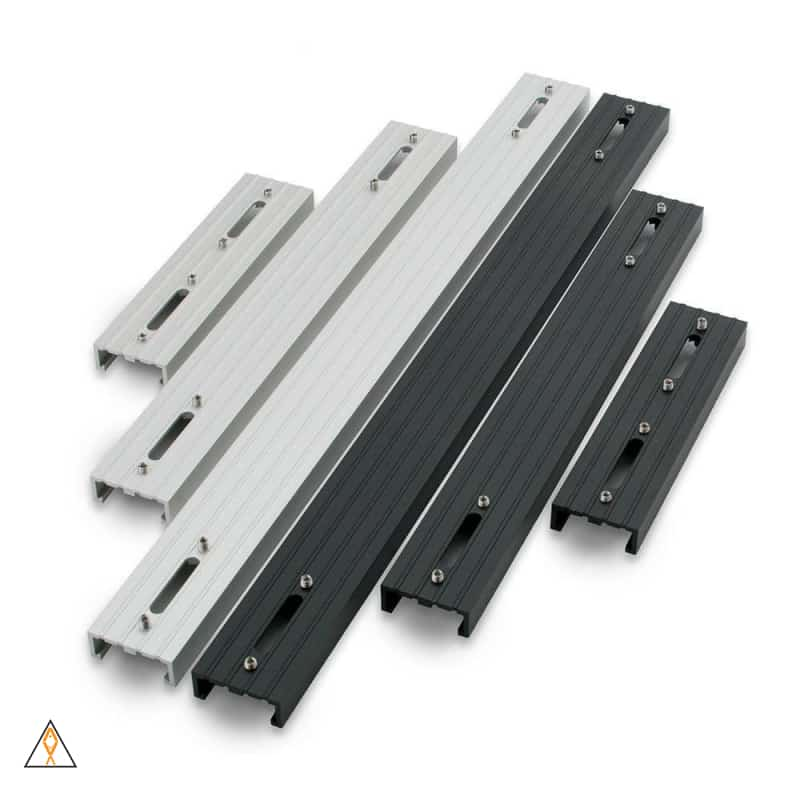 "6"" Rail, Black EXT Rail System - AI"