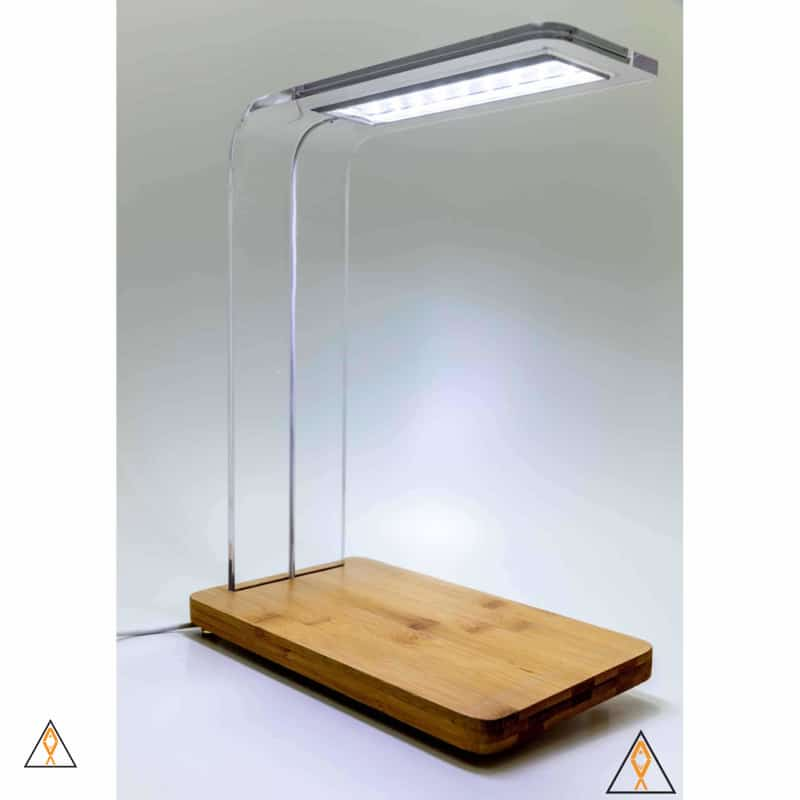 Plant Stand with Integrated LED Lamp - ALA