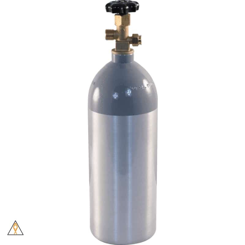 10 LB (Empty) Pressurized CO2 Bottles/Cylinders CGA 320 - ALA