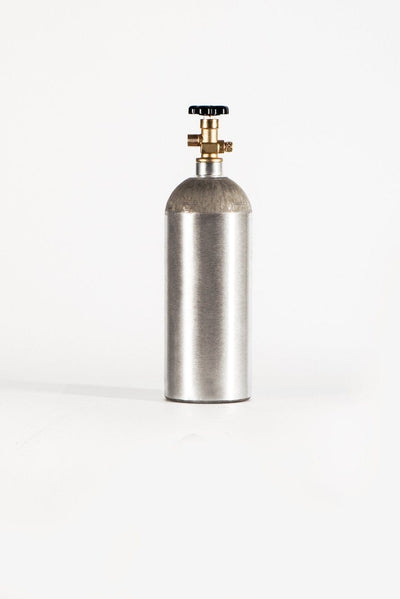Aluminum CO2 Tank 20 LB / 320 oz. of CO2 Pressurized CO2 Bottles/Cylinders, CGA 320 - ALA