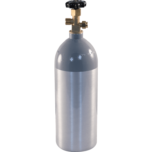 Aluminum CO2 Tank 5 LB (Empty) Pressurized CO2 Bottles/Cylinders, CGA 320 - ALA