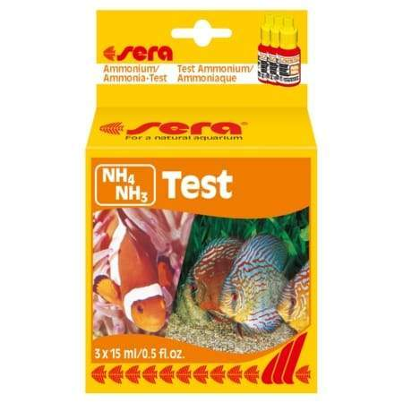 Ammonia Test Kit Ammonium/Ammonia (NH4/NH3) Test - Sera