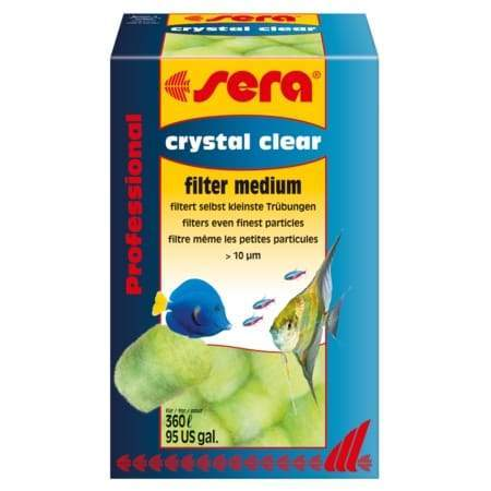 Aquarium Filter Media Crystal Clear Filter Medium - Sera