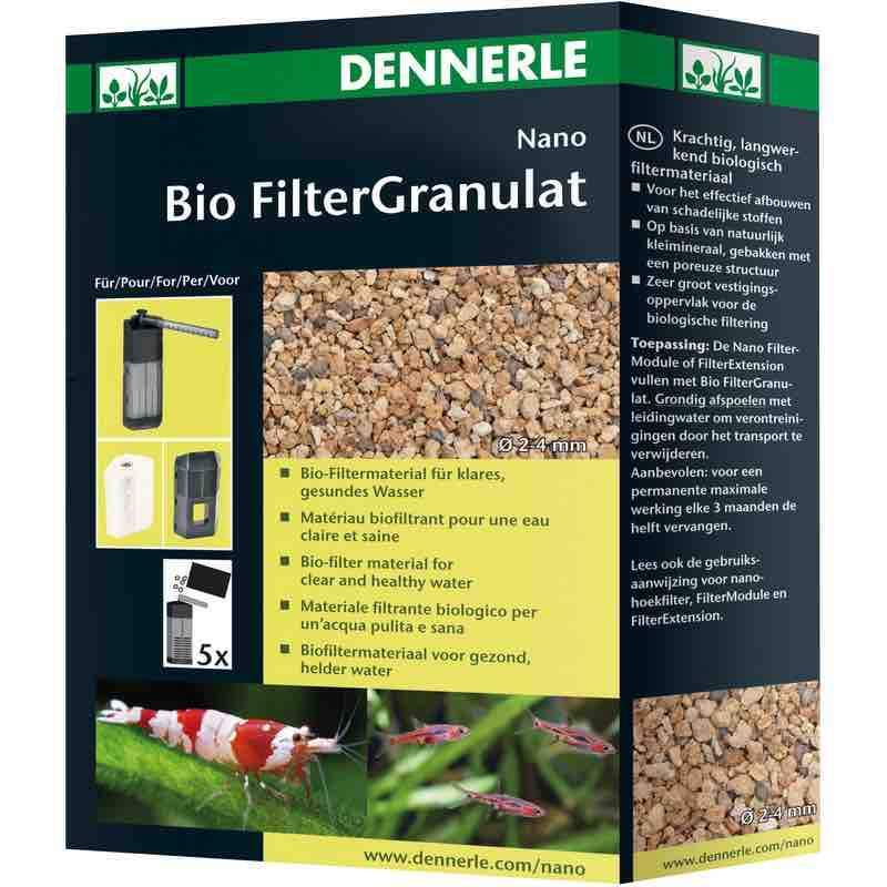 Aquarium Filter Media Nano Bio Filter Granulat - Dennerle