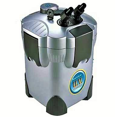 Aquarium Filter Reaction Pro 4 Stage Canister Filter with UV Sterilizer - JBJ