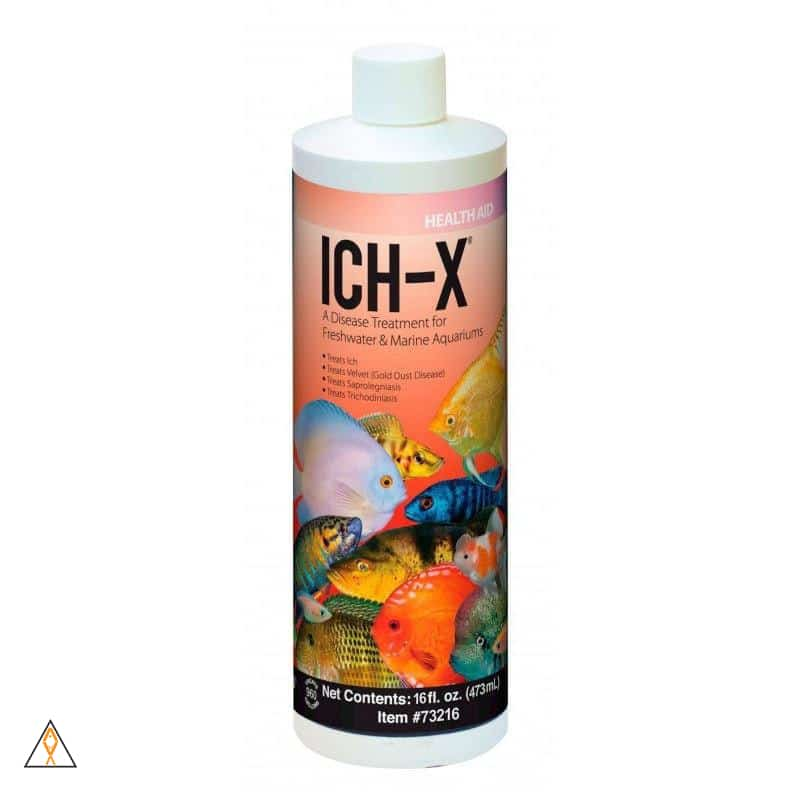 ICH-X Formaldehyde and Malachite Green Medication - Aquarium Solutions