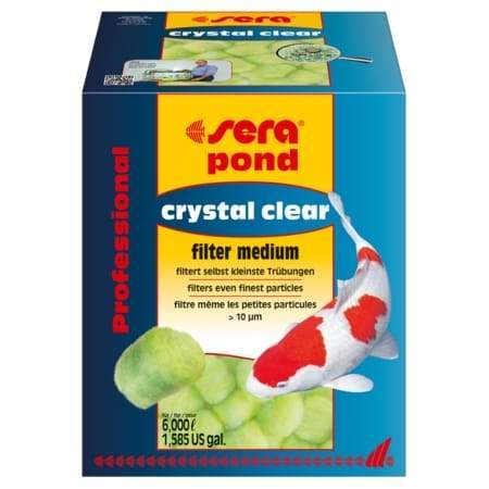 Filter Medium Crystal Clear Pond Filter Medium - Sera