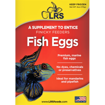 Frozen Aquarium Food Fish Eggs - LRS