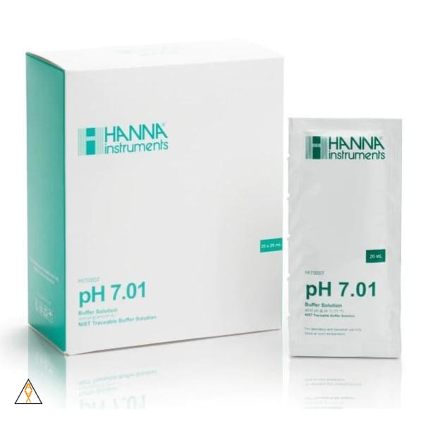 pH 7.01 Calibration Buffer Solution Case - Hanna Instruments