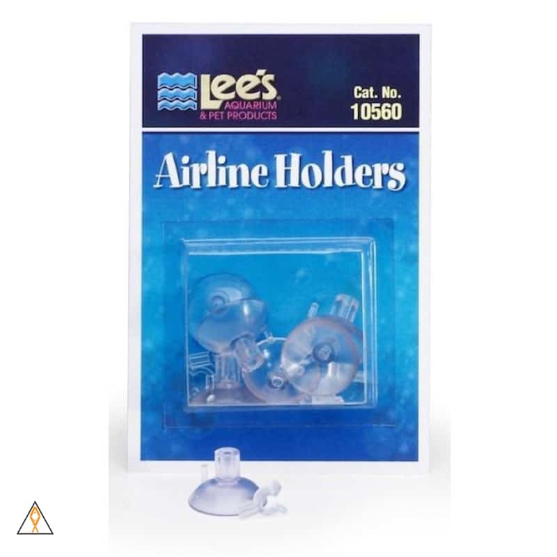 Airline holder with suction cups Suction Cup Airline/CO2 Holder - Lee's