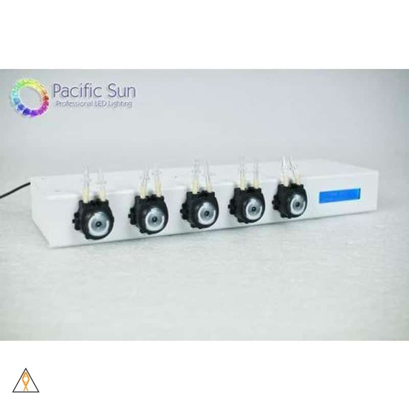 Advanced Aquarium Doser Regular, White Kore 5th Intelligent 5-Channel Dosing Pump, 2nd Gen - Pacific Sun