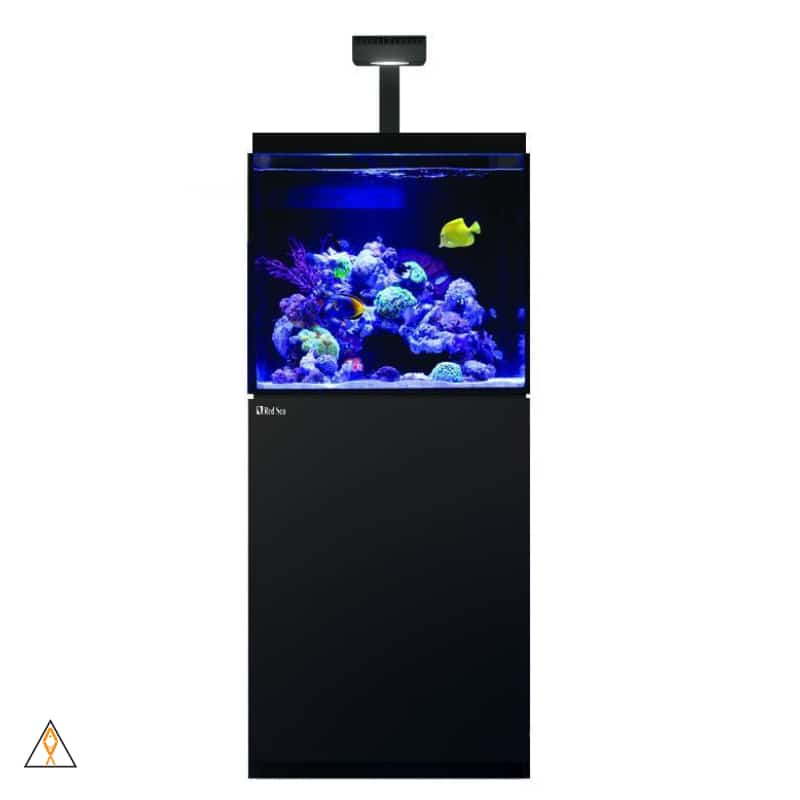 All-in-one reef aquarium Black MAX-E 170 LED Complete Reef Aquarium System (45 GAL) - Red Sea